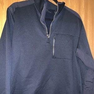 Nautica pullover 1/4 zip Lg